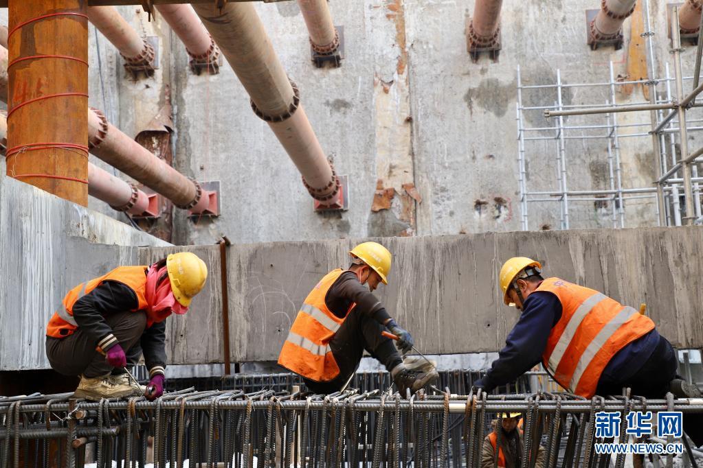 哈尔滨地铁3号线加紧施工