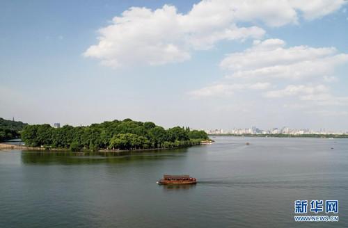杭州:西湖初夏美