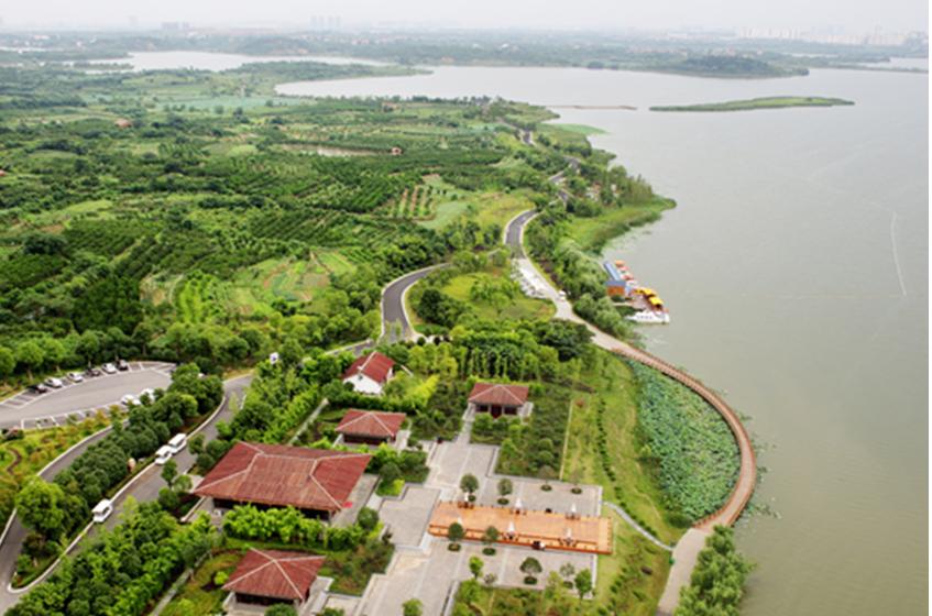 郭笑撰:生态蔡甸的绿色崛起