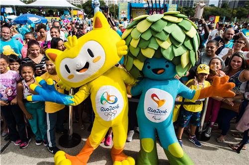里约奥运会吉祥物产品