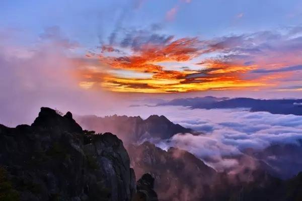 黄山 三亚湾 仙女湖风景区 海湾公园  石岛赤山风景区 武夷山  泰宁