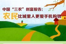 """中国""""三农""""创富报告:农民比城里人更爱手机购物"""