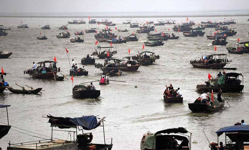 我国最大淡水湖鄱阳湖春季禁渔结束